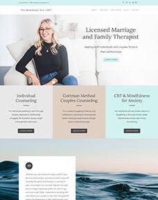 Marriage therapist website designer